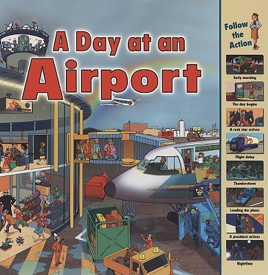 A Day at an Airport By Harrison, Sarah